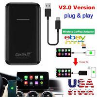 Wireless Carlinkit V2.0 Bluetooth Activator Auto Carplay Adapter CPC200-U2W-Plus
