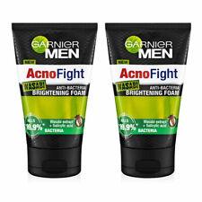 [GARNIER] Men Acno Fight Wasabi Face Wash Brightening Foam 2x100ml