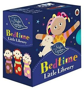 In the Night Garden Bedtime Little Library Four Books Baby Toddler Toy -Stories!