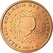 [#702002] Nederland, 5 Euro Cent, 2012, UNC-, Copper Plated Steel, KM:236