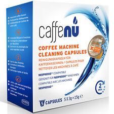 Caffenu Nespresso Compatible Coffee Machine Cleaning Capsules PODS x 50