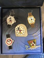 JOURNEY THROUGH TIME Disney Pin Event MICKEY MOUSE club watch 5 pin Set LE 1200
