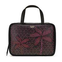Victoria's Secret Jetsetter Hanging Travel Case Black Pink New.