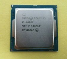 Intel Core i3-6100T 3.20G (SR2HE) CPU Desktop Processor Tested