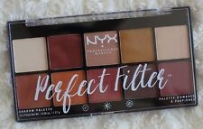 New NYX Rustic Antique Perfect Filter Shadow Palette 0.6 Oz
