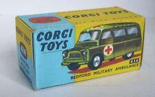 Repro Box Corgi Nr.414 Bedford Military Ambulance