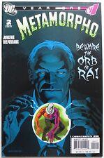 Metamorpho: Year One #2 (Dec 2007, DC) Beware the Orb of Ra! (C3031)