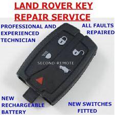 Land Rover Freelander 2 Remote Key Fob Repair New Battery Fix Service