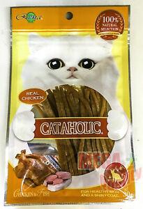 CATAHOLIC Cat Snacks Real Chicken Tuna Supplements 30 g.