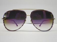 DITA CONDOR TWO Purple Swirl Shiny 18K Violet Glasses Eyewear Sunglasses Shade