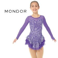 MONDOR Sparkly Violet FIGURE SKATING Competition DRESS Many Sizes