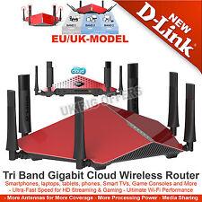 D-Link DIR-890L Wireless AC3200 Ultra Tri-Band Gigabit 4-Port Router 3200Mbps