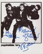 The Psychedelic Furs Fully  Signed 8 x 10 Photo Genuine In Person