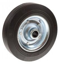 Maypole MP228 Caravan Trailer Spare Jockey Steel Wheel Solid Rubber Tyre 200mm