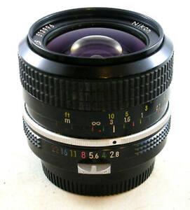 Nikon NIKKOR 24mm 1:2.8 WIDE ANGLE Lens