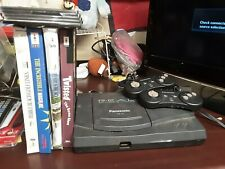 Panasonic 3DO FZ-10 R.E.A.L. USA VERSION + 2 OEM ControllerS + Cables + 11 GAMES