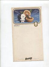 N°8866 /  carte menu liqueur Cointreau avec illustration de Jean A.Mercier