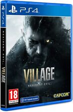 RESIDENT EVIL 8 VILLAGE VIII PS4 VIDEOGIOCO ITALIANO PLAY STATION 4