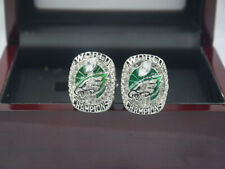 2pcs NEW 2017 2018 Philadelphia Eagles World Championship Ring --