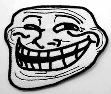 Maxpedition Troll Face Embroidered Logo Iron On / Sew On Patch