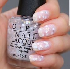 OPI Nail Polish Lacquer - Lights of Emerald City (NL T56) White Confetti 0.5 oz