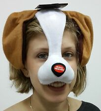 New Animal Party/Carnival/Masquerade/Halloween/Fancy Dress Face Mask DOG + NOISE