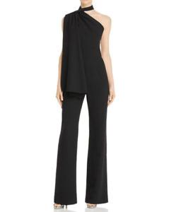 Black Halo Abby Asymmetric Jumpsuit MSRP $495 Size 2 # 12B 1019 NEW
