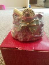 Fitz And Floyd Candy Lane Toybag Candlecup-New In Box