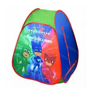 PJ Masks Childrens Unisex Indoor& Outdoor Pop Up Play Tent Folding Tent For Kids