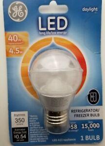 GE 4.5W/40W Fridge/Freezer LED Daylight Bulb 83645 A15 (B6)