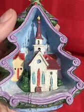 2012 DANBURY MINT ANNUAL CHRISTMAS JIM SHORE OHCOME ALL YE FAITHFUL ORNAMENT
