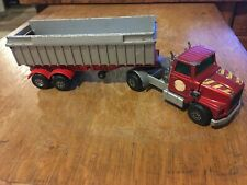 Matchbox Lesney Superkings K-16/18 Ford Lts Articulated Tipper Truck 1973 dump