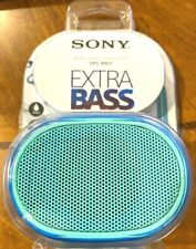 Sony SRS-XB01/W Bluetooth Compact Portable Speaker Blue