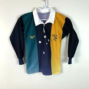 Australia Rugby Wallabies Reebok Vintage Jersey Rare Size Men's Small