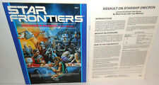 STAR FRONTIERS Referee's Screen with Mini-Module 'Assault on Starship Omicron'