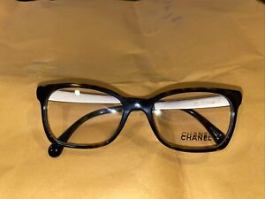 Chanel 3332 714 Eyeglasses Authentic black Frame 52-17 NO CASE