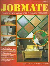 JOBMATE 23 DIY -VINYL FLOORS, RUNNING CABLE, PAVING etc