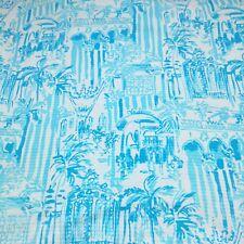 """Cotton Fabric ~ Lilly P Resort White La Via Loca ~ 1 yard x 57"""""""