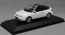 Minichamps Maxichamps Volkswagen VW Golf Mk4 MkIV Cabriolet in White 940058330