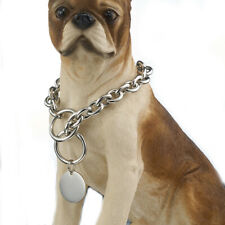 Dog Collar Solid Stainless Steel Pet Collar Walk The Dog Collar Pet Stroll Chain