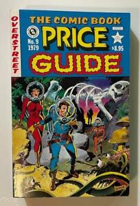 Overstreet Comic Book Price Guide #9 1979 Softcover / Fine Condition