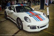 PORSCHE 911 Martini - RALLY CAR GRAPHICS / DECALS