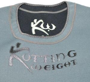 Kutting Weight Sauna Suit Weight Loss Neoprene Long-Sleeve Gray Workout Shirt XL