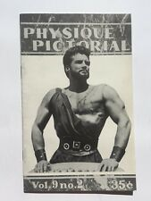 Summer 1959 Physique Pictorial Gay Men's Erotic Magazine