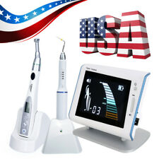USPS!! AZDENT Endo Motor Endodontic Treatment+Root Canal Apex Locator+Heated Pen