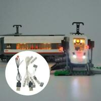 Yeabricks LED-Beleuchtungs-Kits für LEGO 60051 Trains Model Passenger High- K3F6