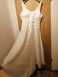 Brautkleid Hochzeitskleid,Gr.40-42,Garten-Strandhochzeit/Kofferkleid