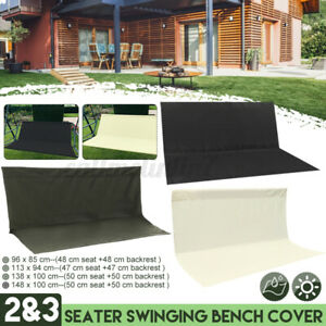 2&3 Seater Replacement Swing Seat Garden Patio Hammock Bench Spare Cover Outdoor