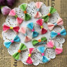 10pcs Hair Bows with Alligator Clips Grosgrain Ribbon Hair accessories Girl Baby