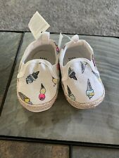 Baby Gap Ice Cream Print Shoes Size 3-6 Months